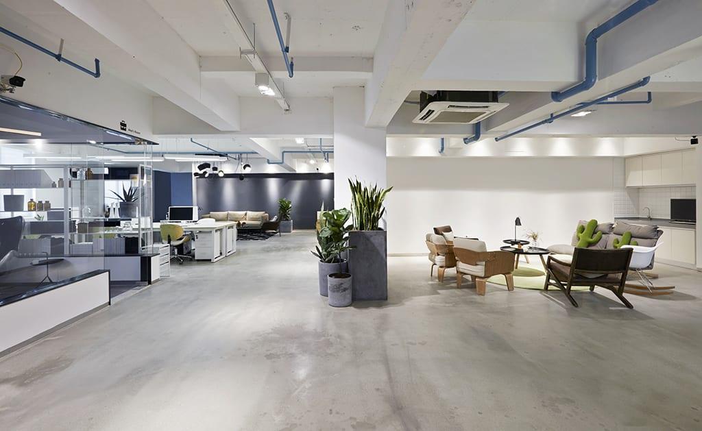 Kantoor inrichten met een grote open ruimte