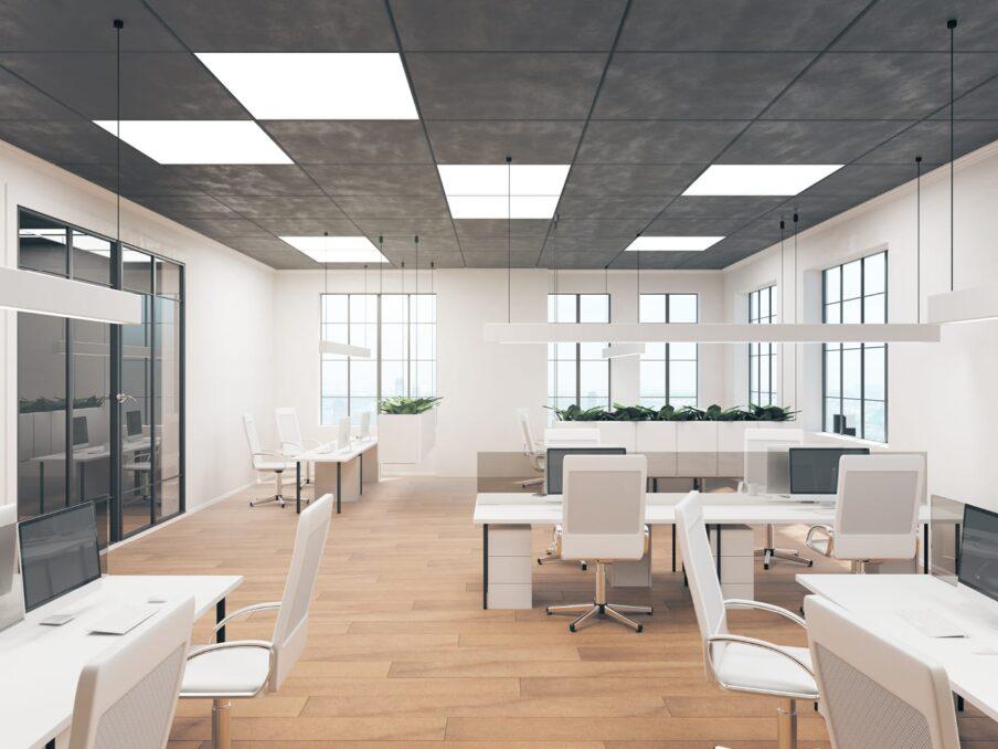 Verlichting plafondpanelen