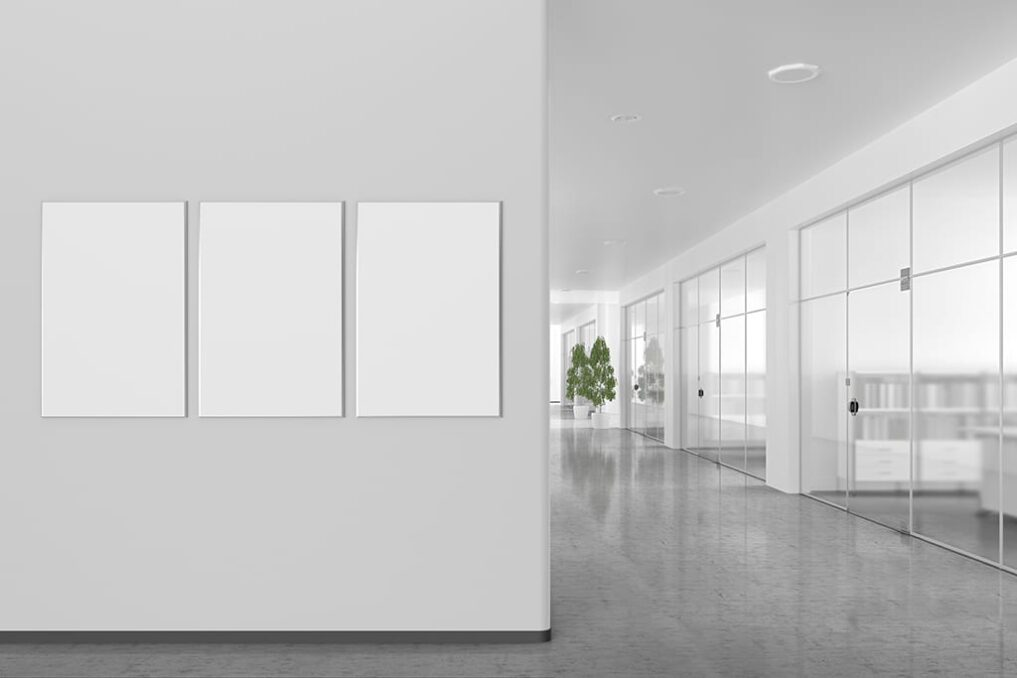 Glazen wanden kantoor design