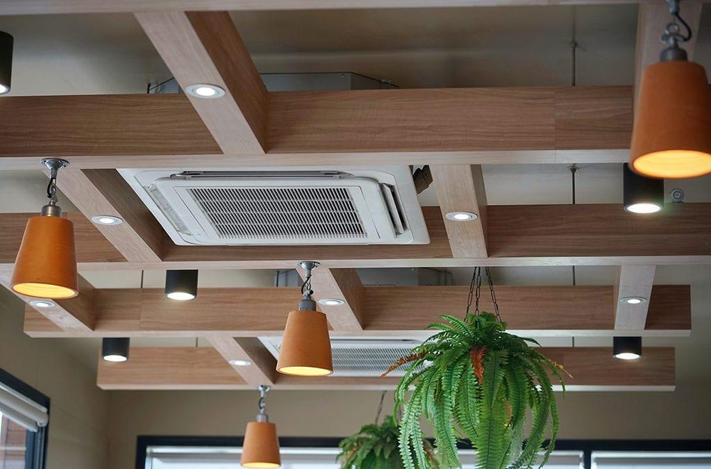 Luchtbehandeling plafond