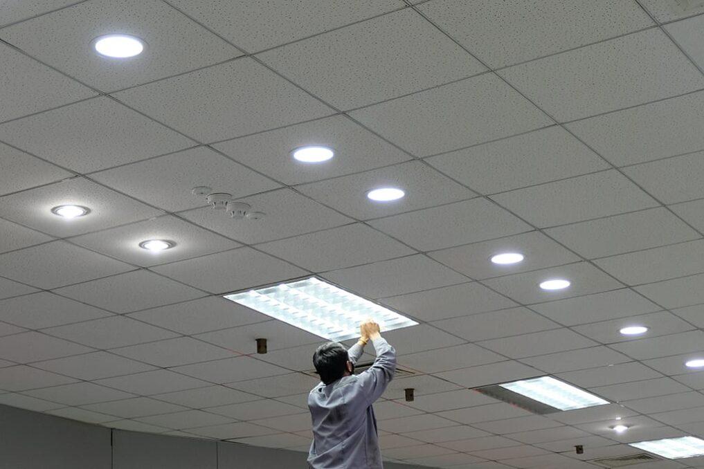 Hoe installeer je een systeemplafond