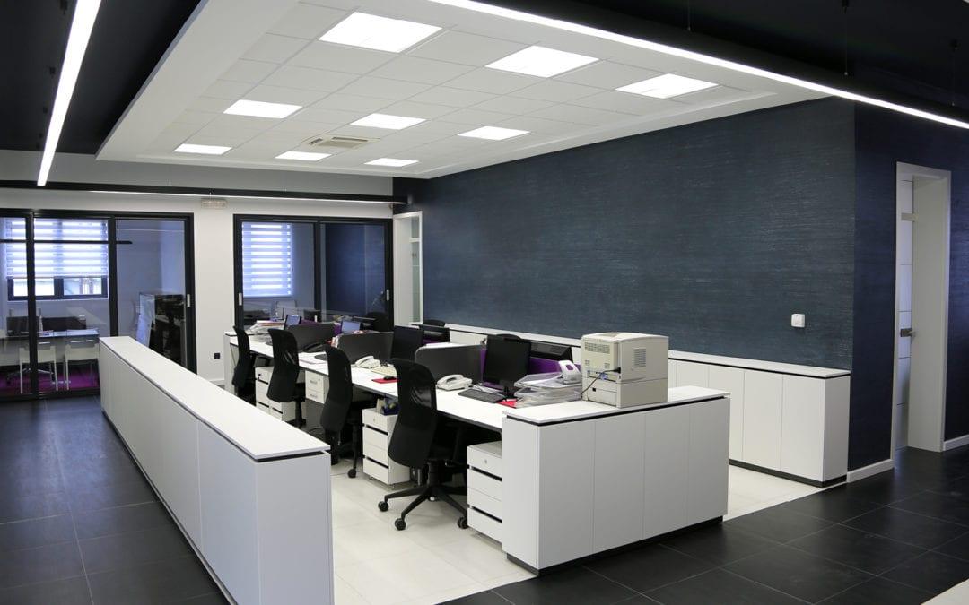 kunststof plafond kantoor