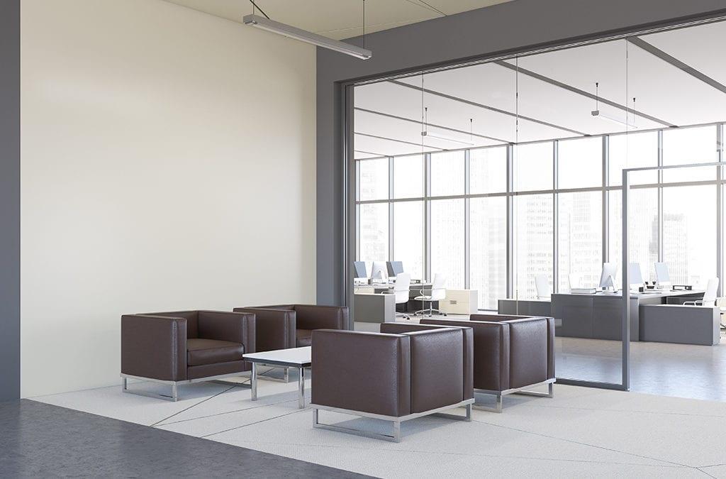 Kosten van groot onderhoud van een kantoor