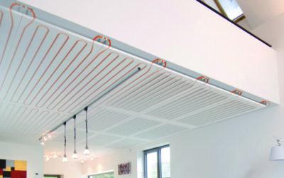 Plafondverwarming als alternatief voor vloerverwarming