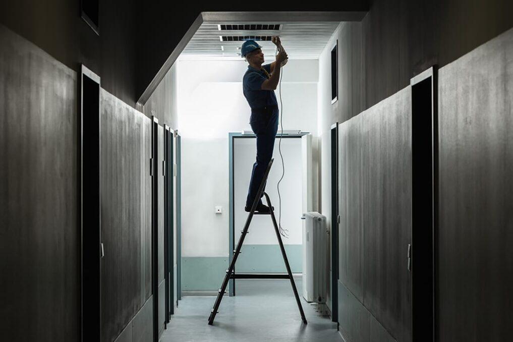 Onderhoud aluminium plafond
