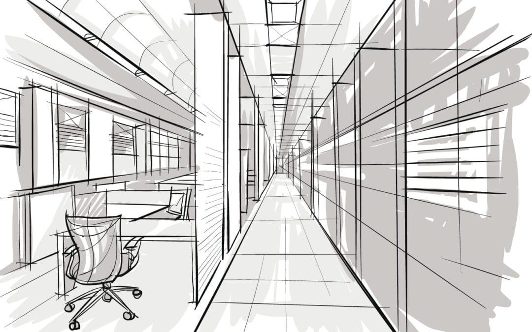 Interieurarchitectuur kantoor